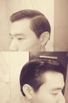 Using Tancho Pomade